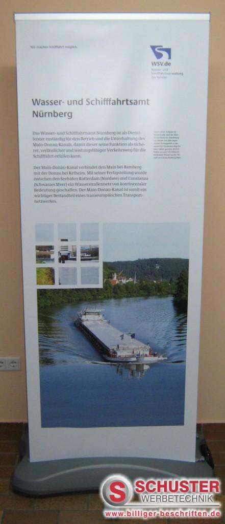 messe messestand präsentation digitaldruck grossformat xxl nürnberg outdoor roll up rollup display wsv 3 441x1024 - MESSE - PRÄSENTATION