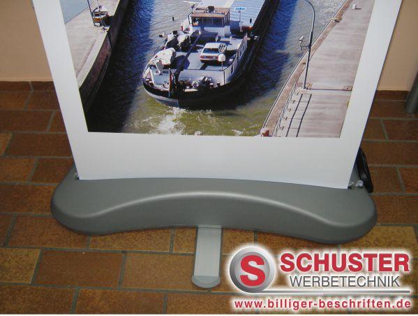 Rollup-Display outdoor - Stabil bei Wind und Wetter